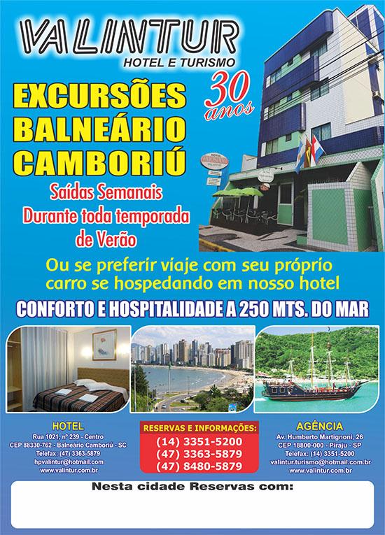 Cartaz Hotel Valintur