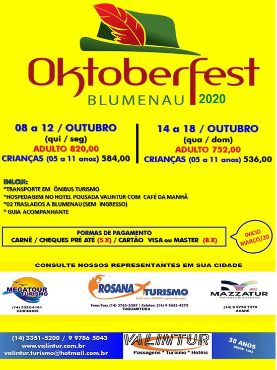 OKTOBER BLUMENAU CERTO 2020